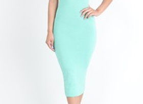 MINT BODYCON DRESS