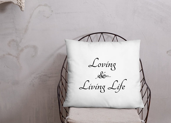 Jealous... A Life Style Logo Basic Pillow