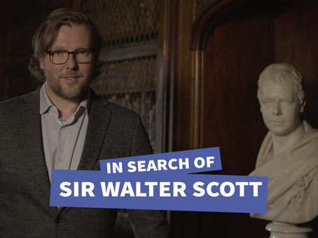 In Search of Sir Walter Scott - Coming to BBC Scotland 10th August
