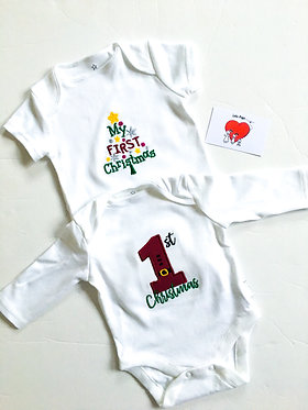 Christmas Baby Vests