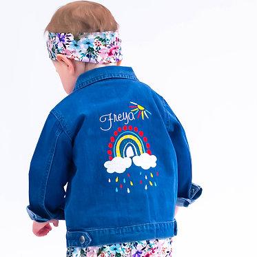 Rainbow Denim Jacket