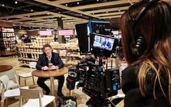 Filming for Kellogg in Dublin
