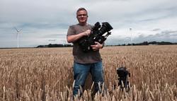 Standing in a German Field