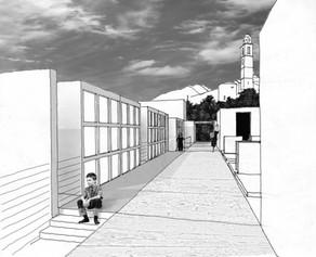 Cimitero di Berbenno - 3° posto - Prospettiva interna