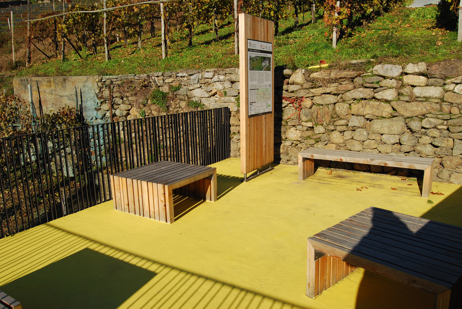 Area di sosta - Ponte in Valtellina