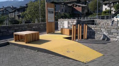 Area di sosta - Berbenno di Valtellina - S. Maria