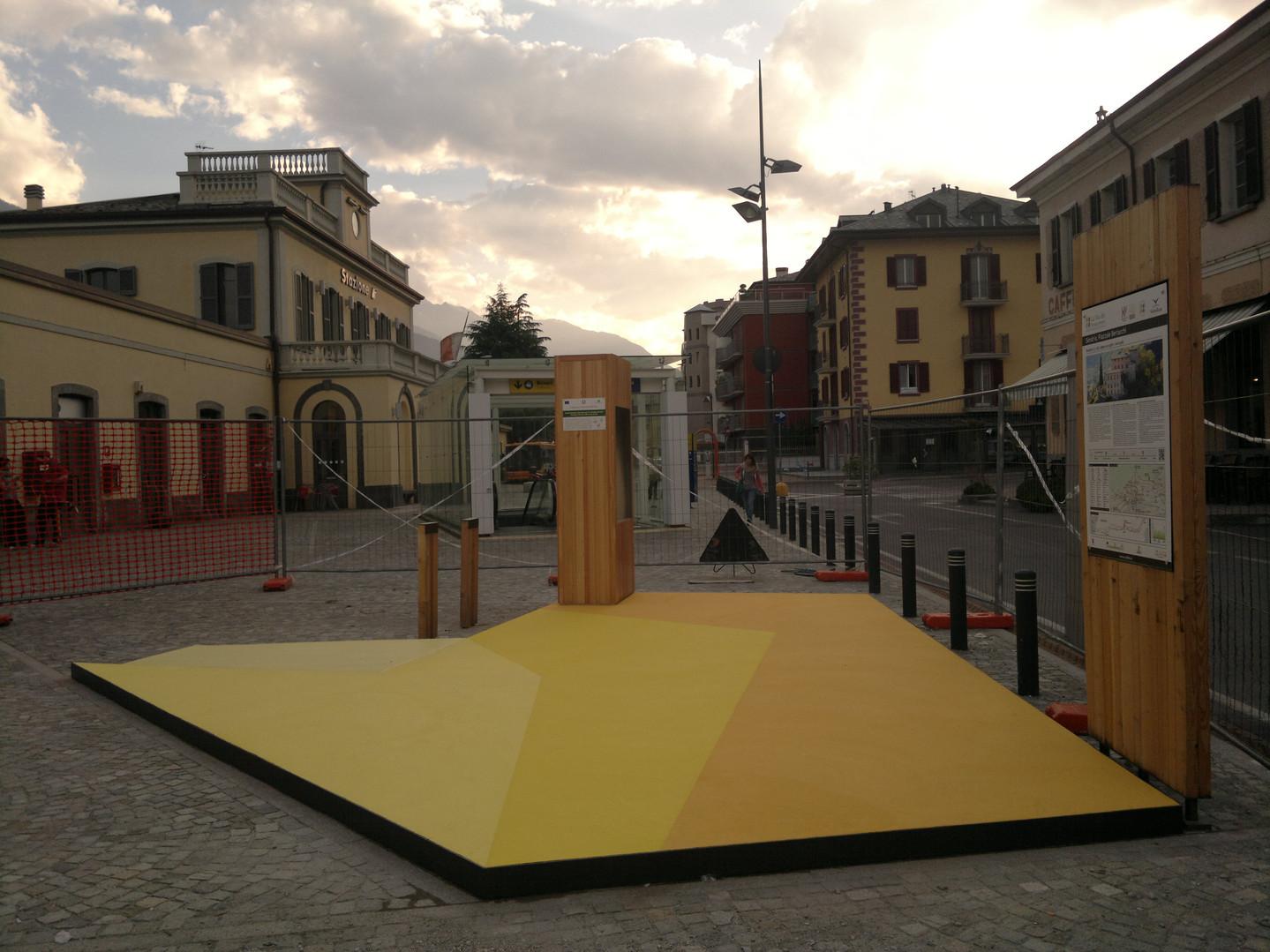 Area di sosta - Sondrio - Piazzale bertacchi