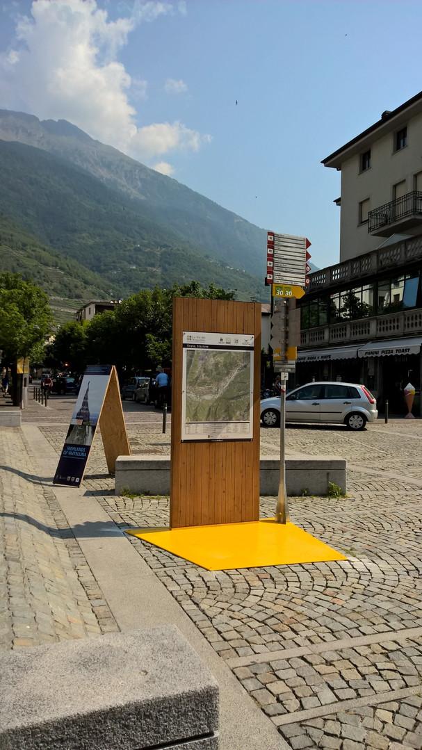 Area di sosta - Tirano