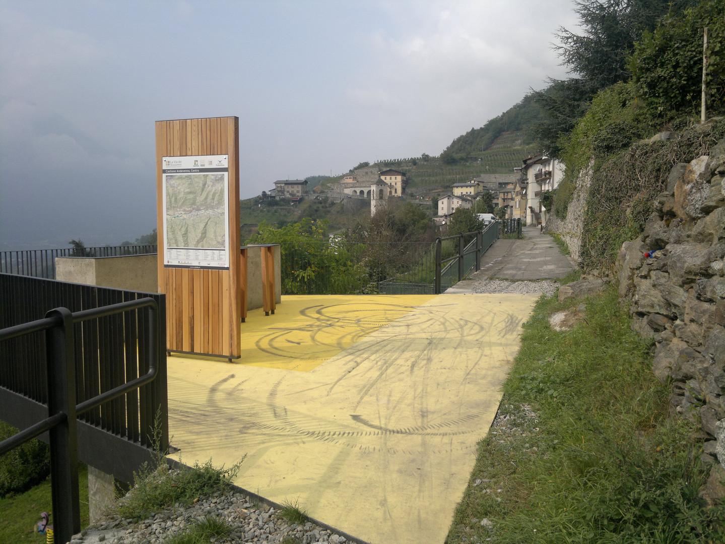 Area di sosta - Castione Andevenno