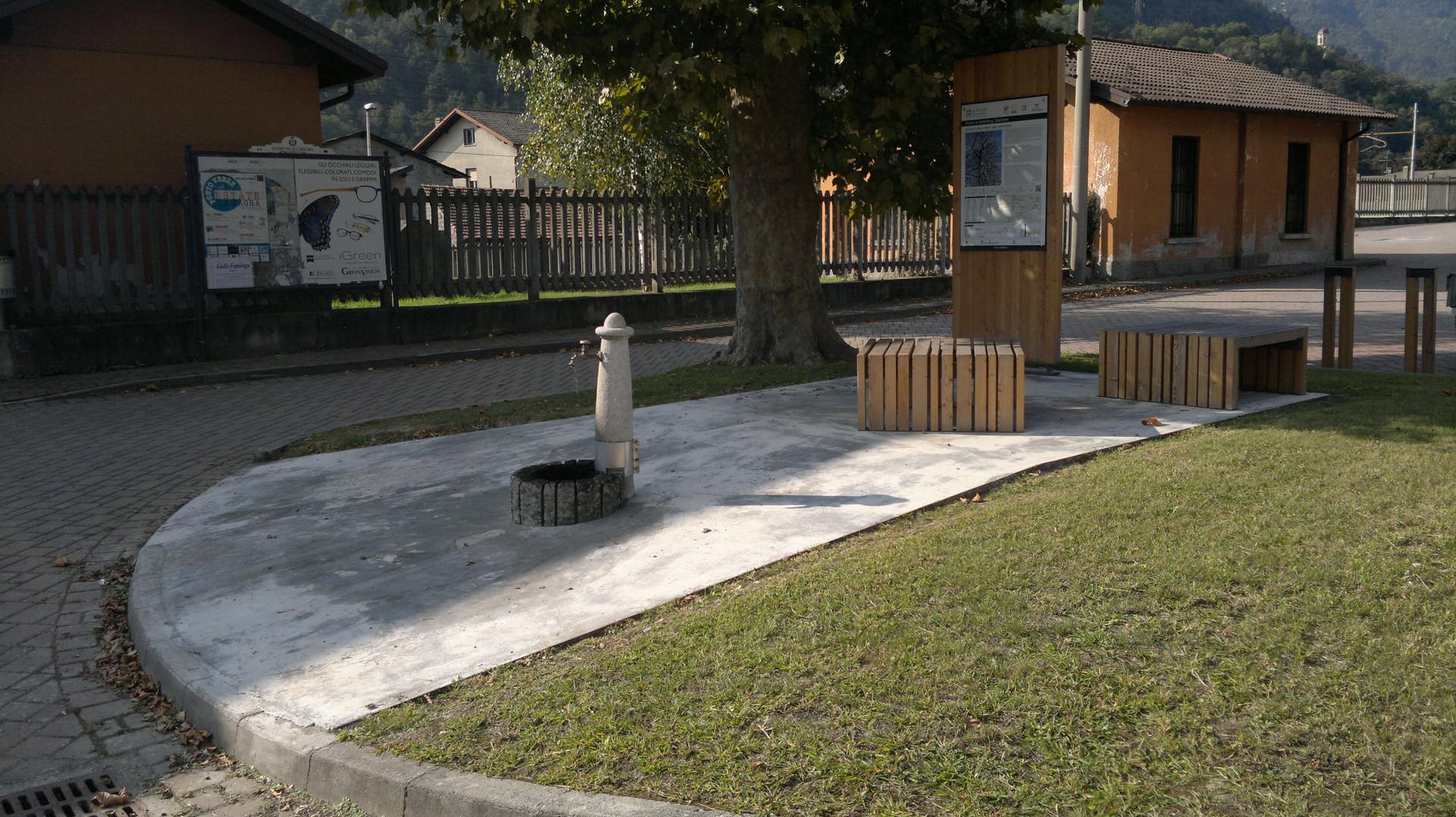 Area di sosta - Ponte in Valtellina - Stazione