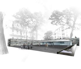 Casa di Riposo - 2° premio - Vista Piazza Parravicini