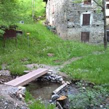 Sentiero dei terrazzamenti - Ponte