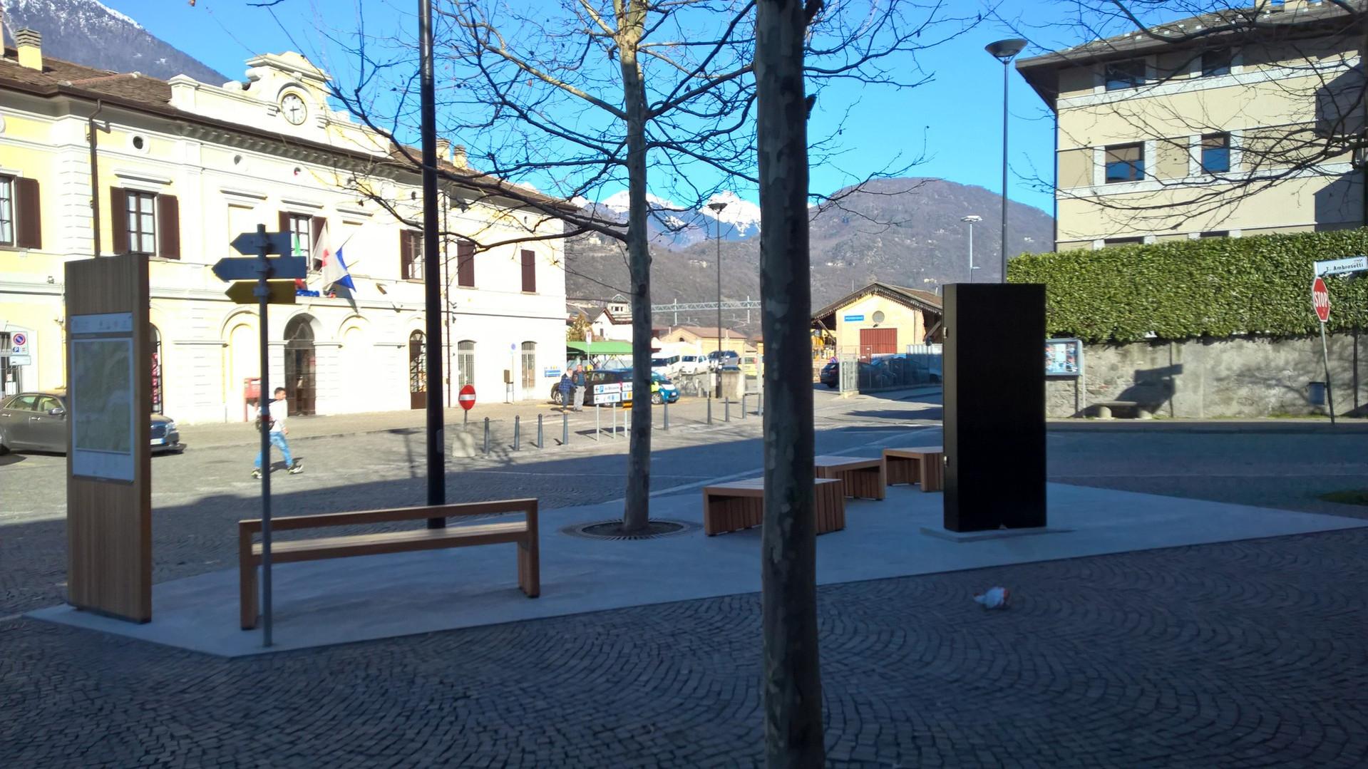 Area di sosta - Morbegno - Stazione