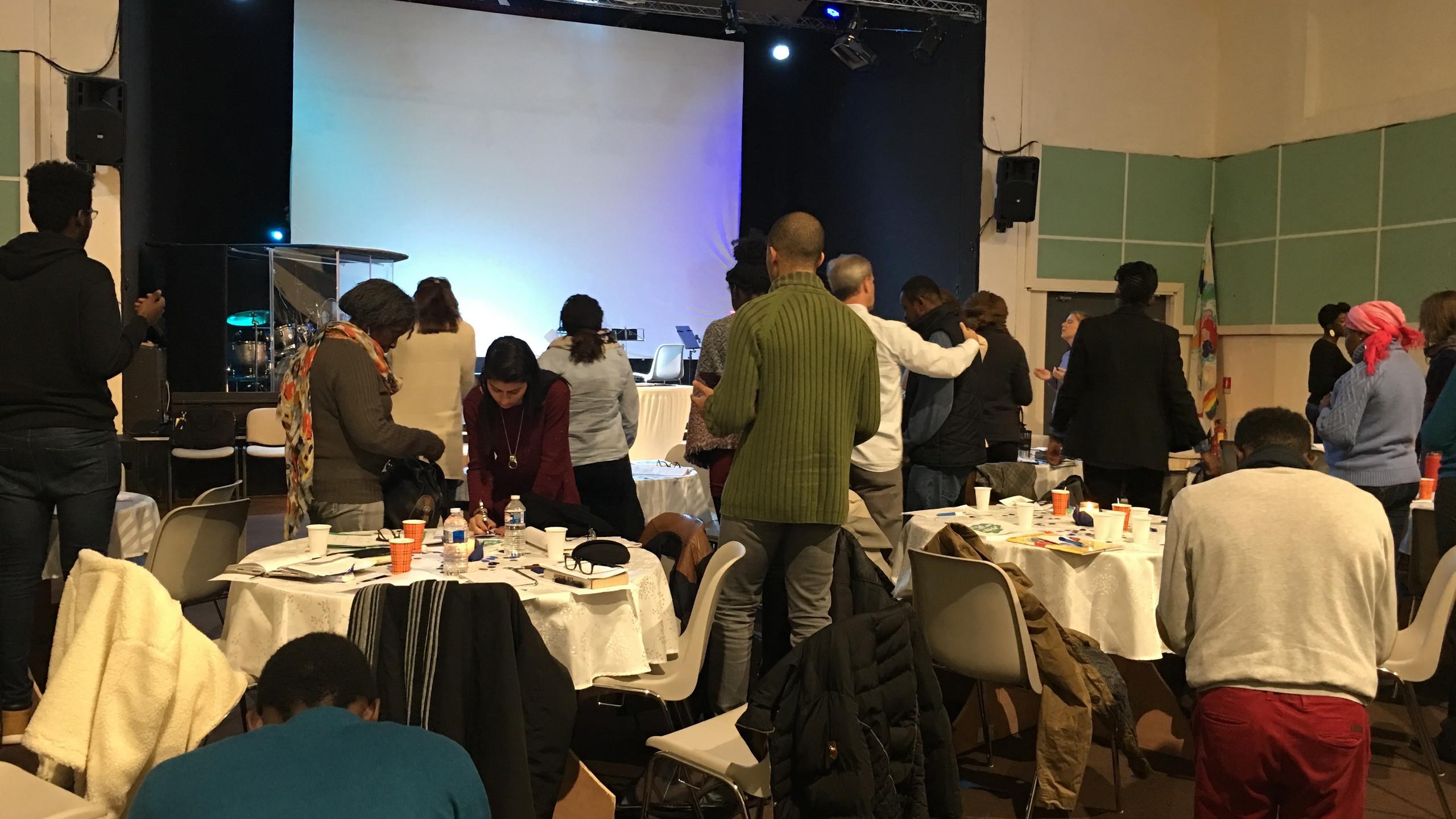 Singles seminar on covenant