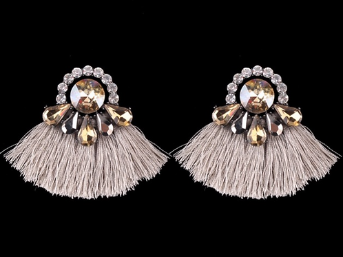 Tassels Turn Heads Earrings