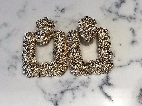 Gold Girl Earrings