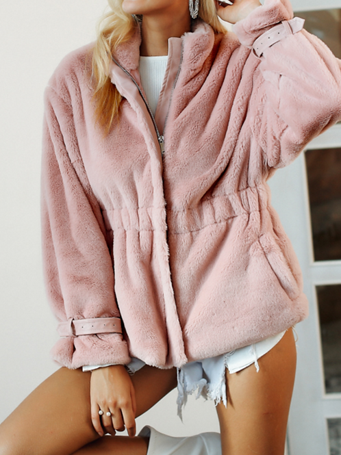 Lea Faux Fur Coat