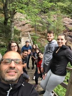 2019 Lab Retreat with Hussein La