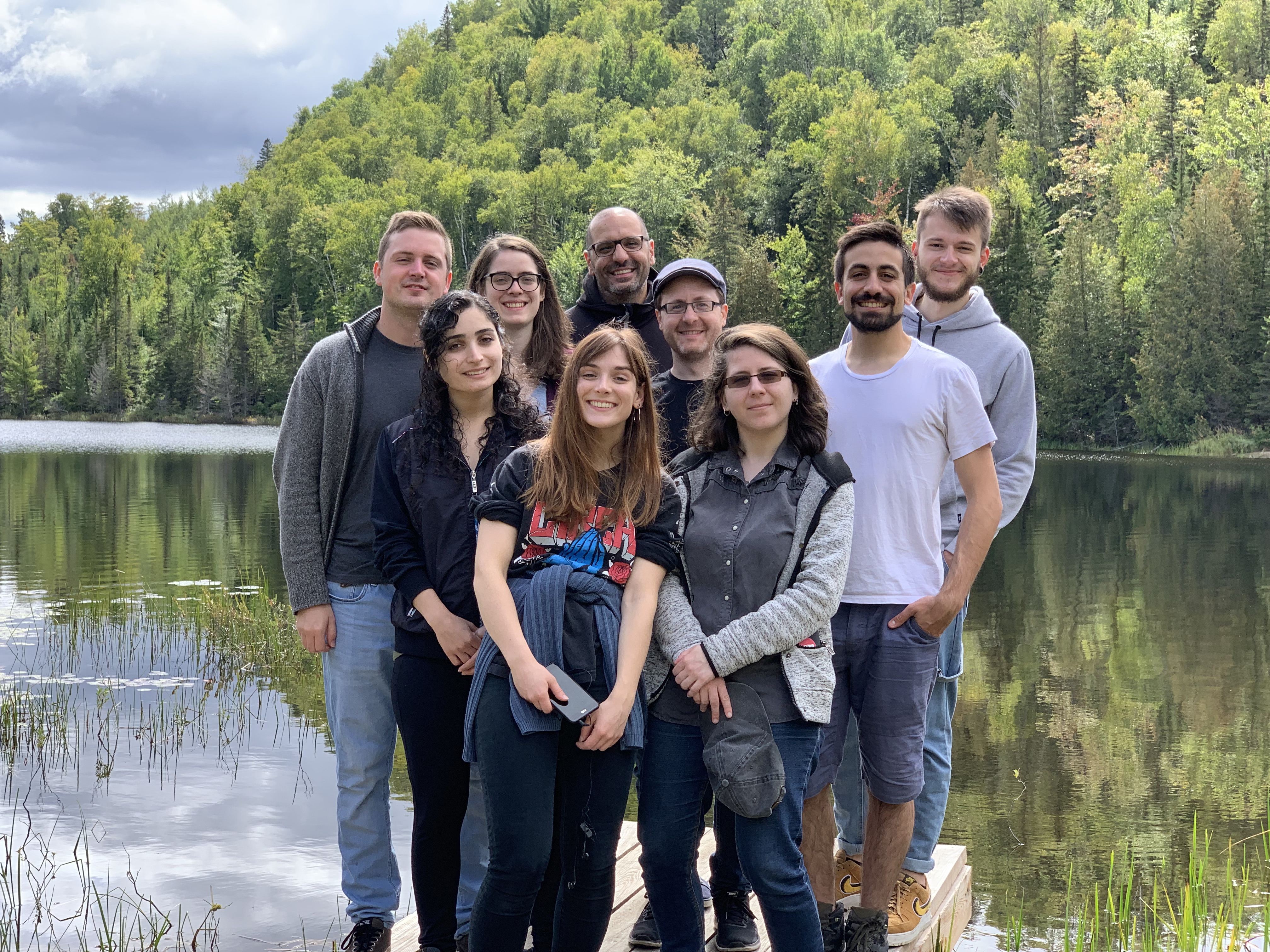2019 Lab Retreat with Hussein Lab