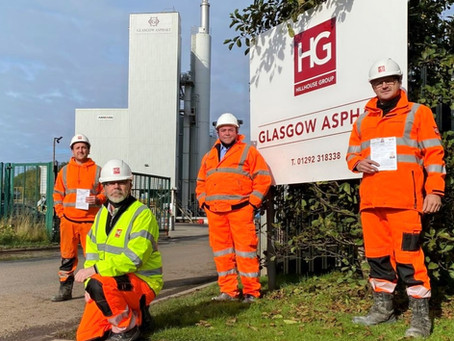 Hillhouse Quarry Group - First in Scotland