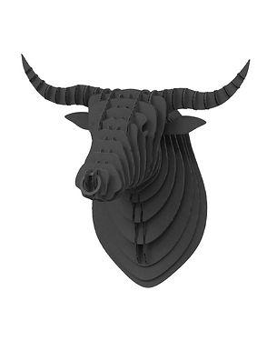 Cardboard Bull Black