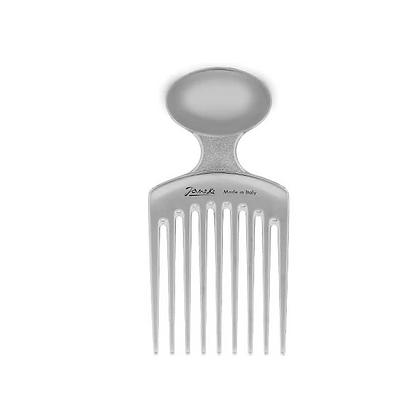 Janeke Silver Afro Comb