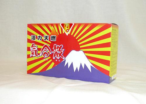 生姜と玉糖 エネルギー代謝を良くし温まる飲料 気合散辛口1箱(150g×3袋入り)