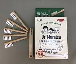 ドクターむらつのワンライン歯臓ブラシ(ブラシ5本、ホルダー1本