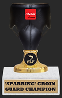 Sparring Groin Guard Champion Trophy - W
