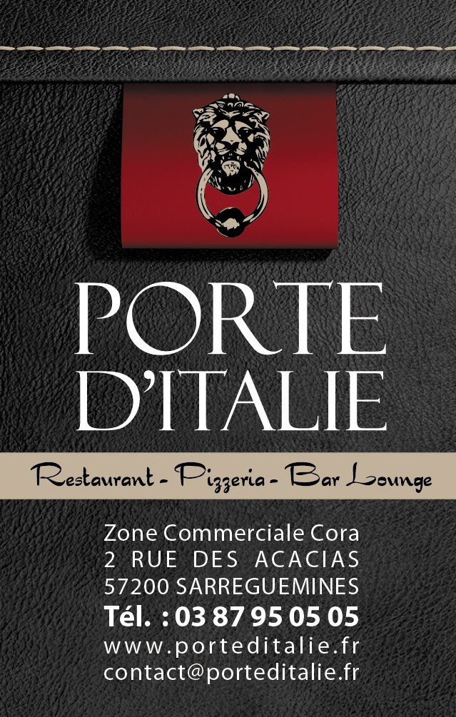 porte d 39 italie restaurant italien. Black Bedroom Furniture Sets. Home Design Ideas