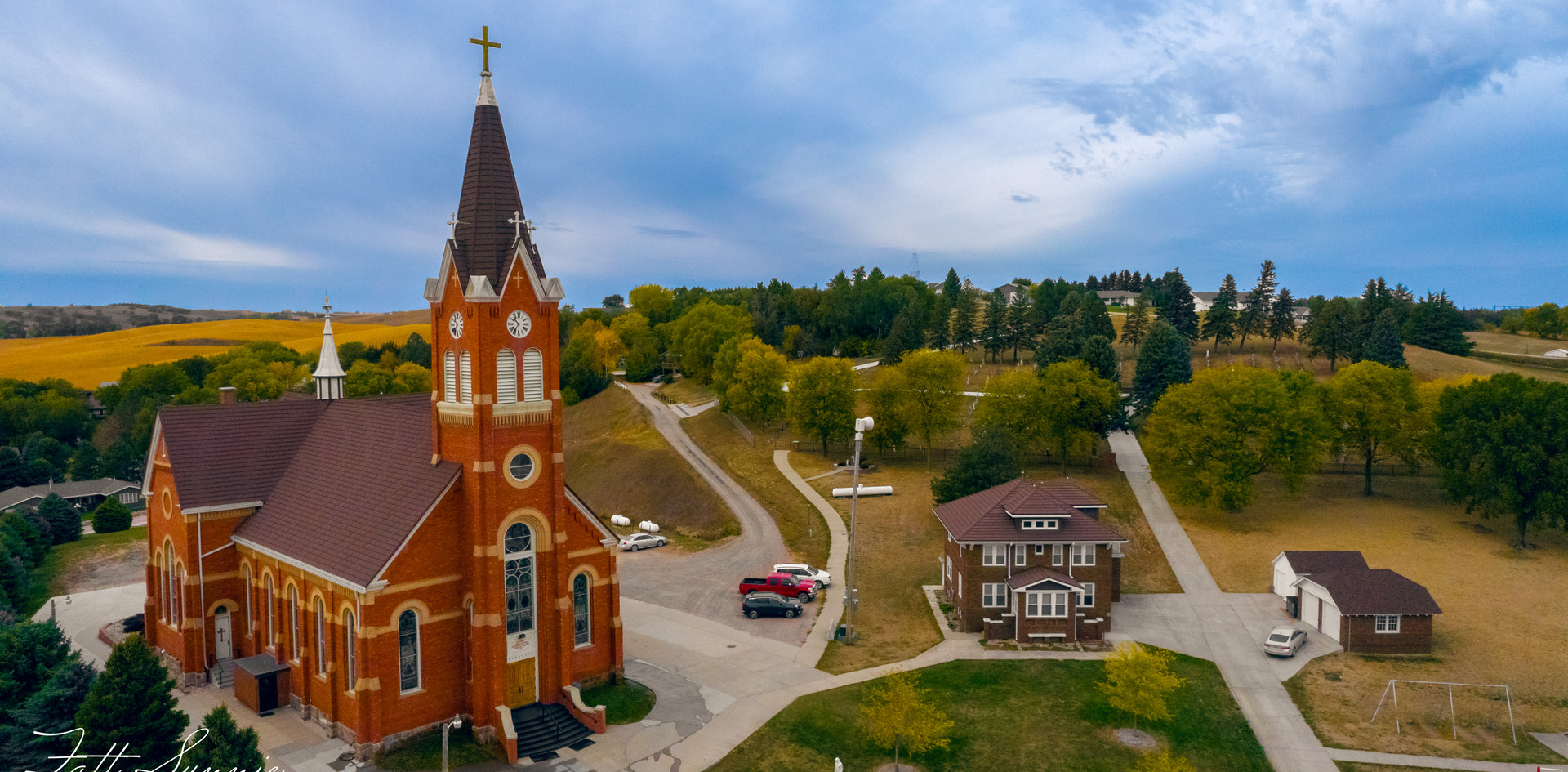 Church Drone Photo