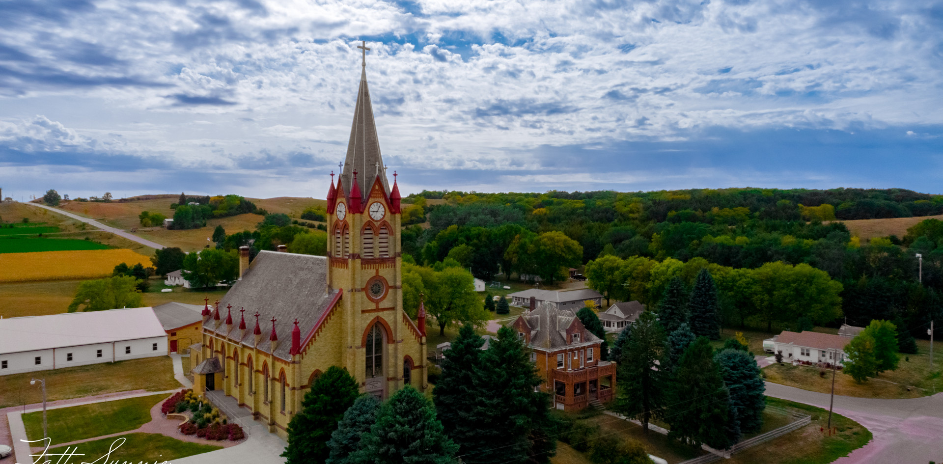 Church Drone Photo 2
