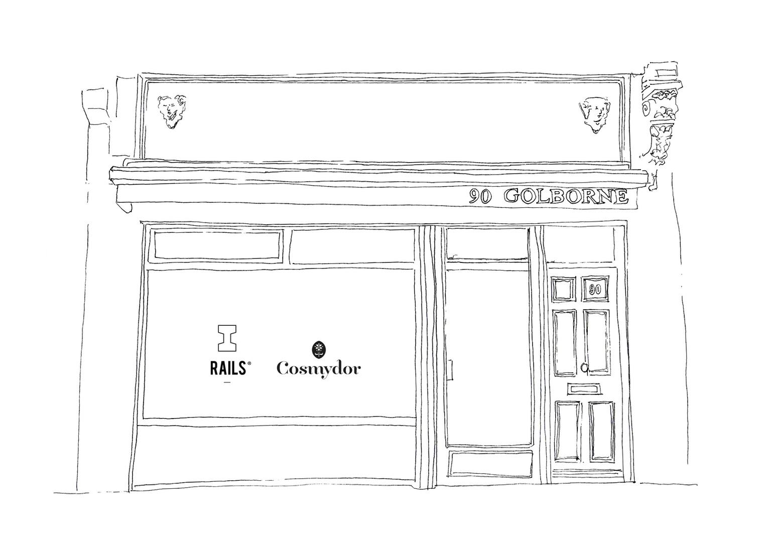RAILS Pop-Up store Golborne Road-Portobello London