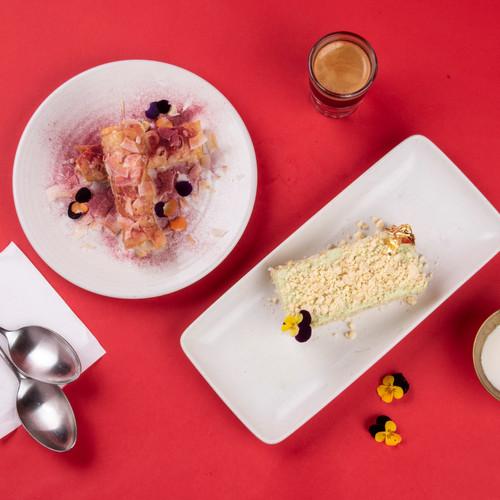 עוגת פנדן וקנולי קוקוס