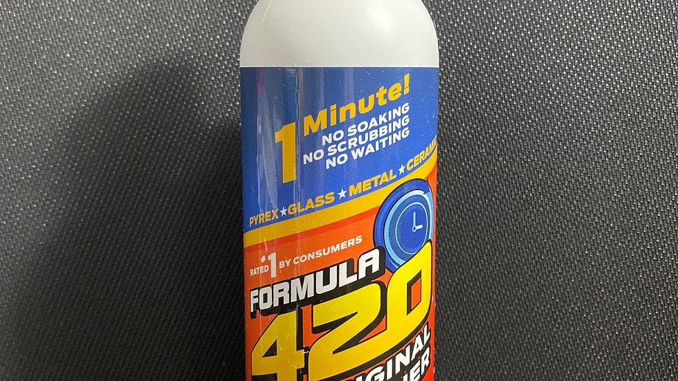 FORMULA 420 CLEANER - GLASS, METAL & CERAMIC CLEANSER