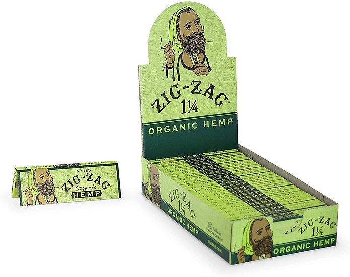 Zig Zag Organic Hemp 1-1/4 Papers