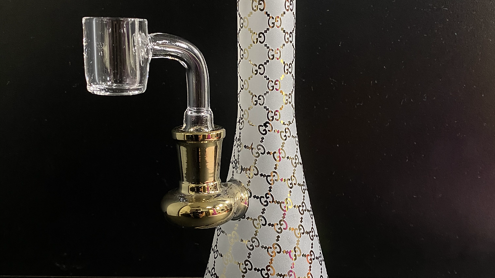 "GG Gold 10"" Water Pipe"