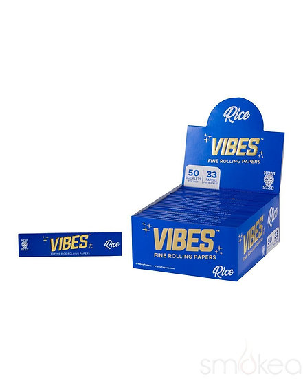 Vibes Papers + Tips King Size Rice