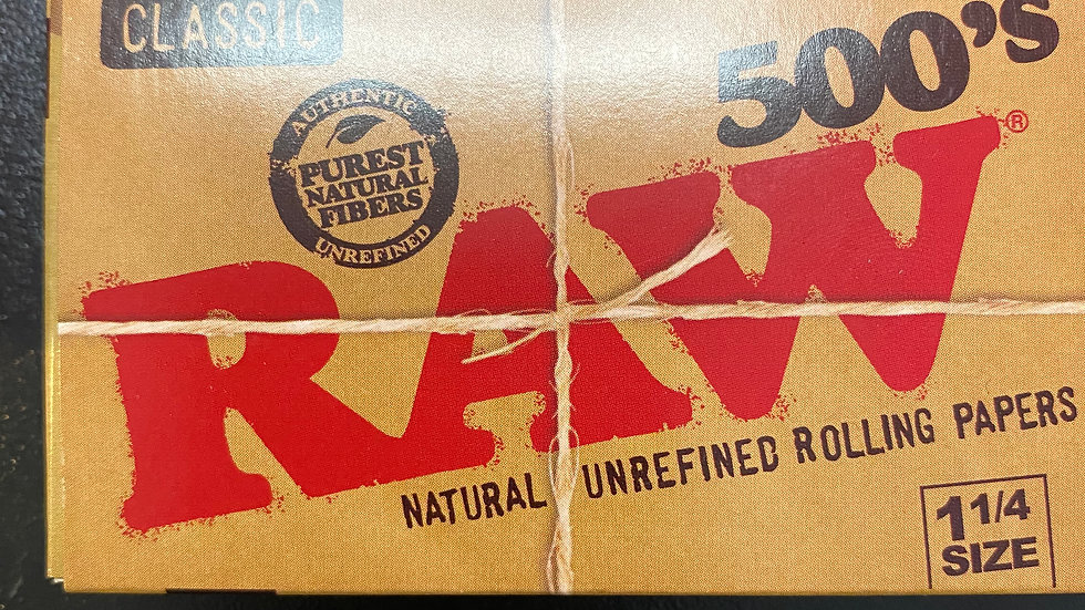 Raw Papers 1-1/4 500's Counts