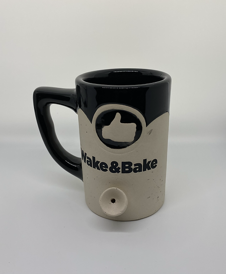 Wake&Bake Coffee Cup-Black