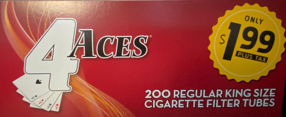 4 Aces Cigarette Tubes King Size