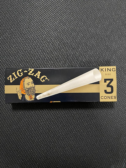 ZigZag Cones King Size 3/pack