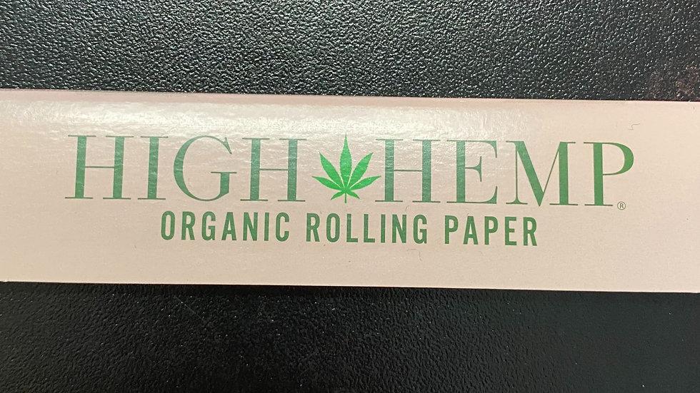 High Hemp Organic Rolling Papers King Size