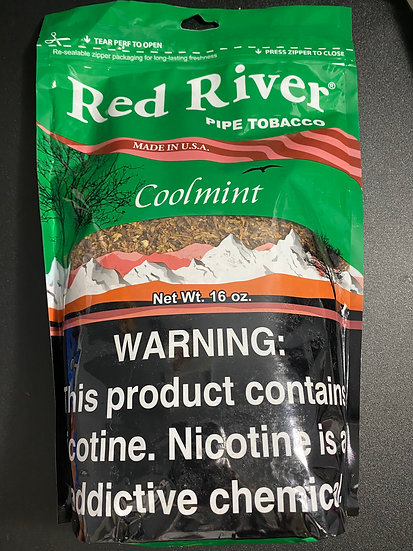 Red River Coolmint Pipe Tobacco 16 oz. Pack