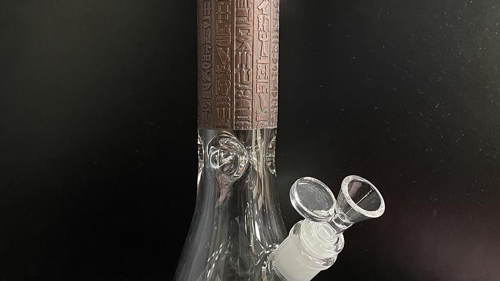 """Engraved-Egyptian Beaker 13"""""""