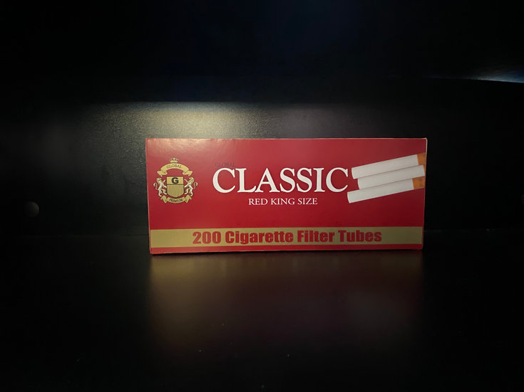 Classic Cigarette Filter Red King Size