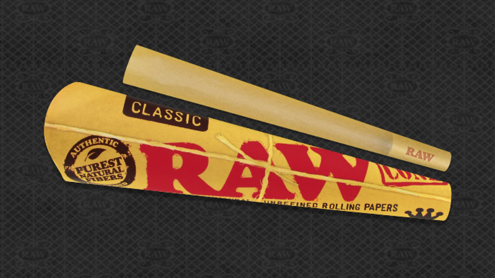 Raw Cones King Size-3/pack