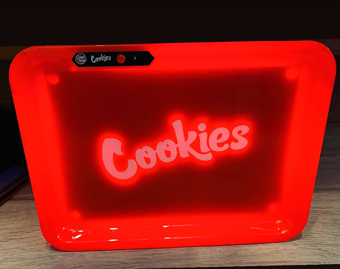 Cookies Rolling Tray LED-Red