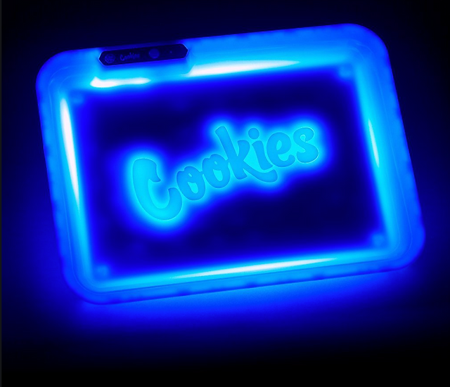 Cookies Rolling Tray LED-Blue
