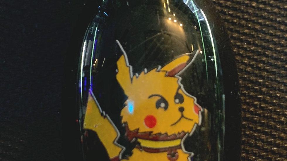 Pikachu Green Glass Pipe